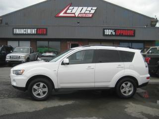 Used 2013 Mitsubishi Outlander ***4x4*** for sale in Ste-Catherine, QC