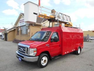 Used 2010 Ford E-450 Bucket Truck RH38D Certified Loaded 178,000KMs for sale in Etobicoke, ON