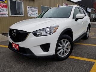 Used 2014 Mazda CX-5 GX-BLUETOOTH-SKYACTIV-ALLOYS-CLEAN for sale in Tilbury, ON