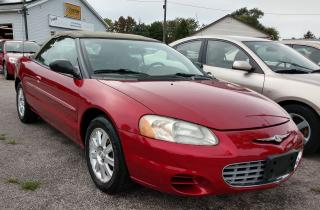 Used 2003 Chrysler Sebring GTC for sale in Sarnia, ON