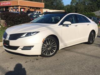 Used 2015 Lincoln MKZ 3.7L AWD-HEATED-PANO-NAVI-BACK UP-NO ACCIDENTS for sale in Mississauga, ON