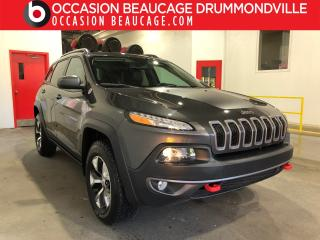 Used 2016 Jeep Cherokee V6 AWD A/C for sale in Drummondville, QC