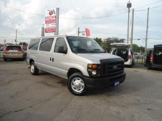 Used 2010 Ford E350 11 PASSENGER SAFETY LOW KM G LICENCE READY TO WORK for sale in Oakville, ON