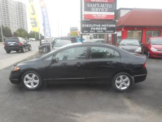 Used 2008 Honda Civic DX / FUEL SAVER/ ALLOYS/ POWER WINDOWS/ CERTIFIED/ for sale in Scarborough, ON