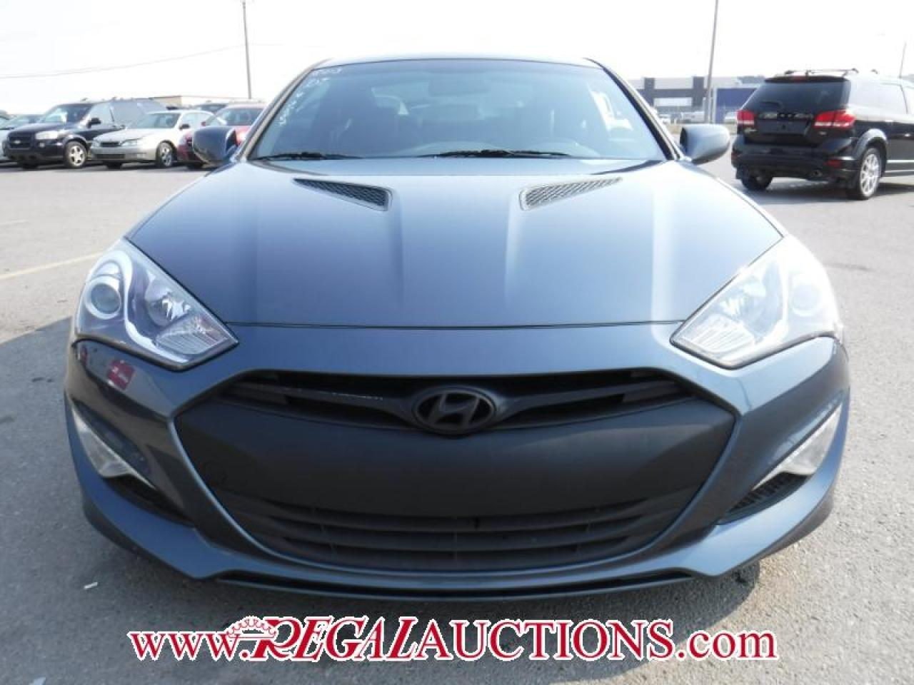 Photo of Blue 2013 Hyundai Genesis Coupe