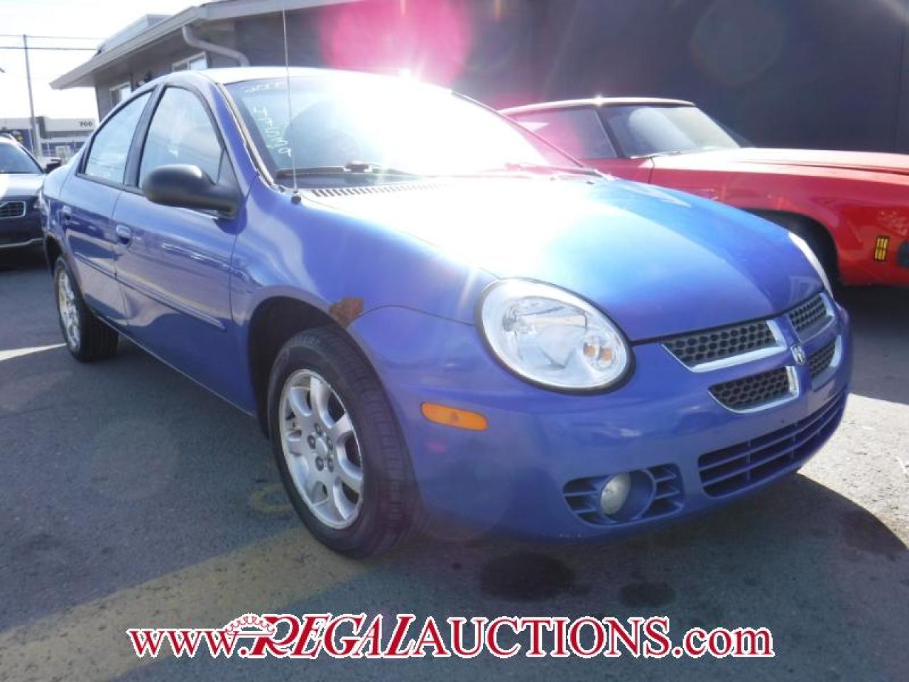 Photo of Blue 2005 Dodge SX 2.0
