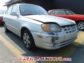 Used 2005 Hyundai Accent 4D Hatchback for sale in Calgary, AB