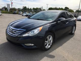 Used 2012 Hyundai Sonata Limited * Leather * NAV * Rear CAM * Pano Sunroof for sale in London, ON