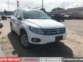 Used 2014 Volkswagen Tiguan Highline | NAV | LEATHER | ROOF | CAM for sale in London, ON