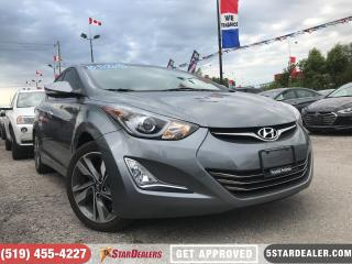 Used 2016 Hyundai Elantra Limited | NAV | LEATHER | ROOF | CAM for sale in London, ON