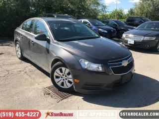 Used 2014 Chevrolet Cruze 1LT | ROOF | CAM | 1 OWNER for sale in London, ON