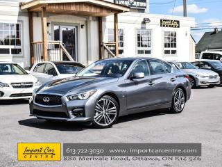 Used 2015 Infiniti Q50 Sport AWD NAV SPORT TUNED SUSPENSION H.STEER WOW!! for sale in Ottawa, ON