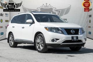 Used 2014 Nissan Pathfinder PLATINUM 360 CAMERA NAVIGATION DVD PANO-SUNROOF LEATHER for sale in Toronto, ON
