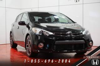 Used 2014 Kia Forte5 SX + TURBO + TOIT + NAVI + MAGS 18'' + W for sale in St-Basile-le-Grand, QC