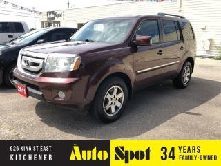 Used 2011 Honda Pilot Touring/LOW, LOW KMS/PRICED-QUICK SALE! for sale in Kitchener, ON