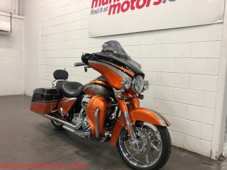 Used 2011 Harley-Davidson CVO Street Glide SOLD SOLD SOLD 110 cu in Wow!!! for sale in St. George Brant, ON