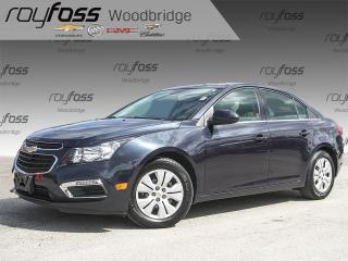 Used 2015 Chevrolet Cruze LT Backup Cam, Auto for sale in Woodbridge, ON