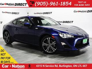 Used 2016 Scion FR-S | TOUCH SCREEN| BACK UP CAMERA| for sale in Burlington, ON