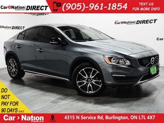 Used 2016 Volvo S60 Cross Country T5 Platinum| AWD| NAVI| SUNROOF| LEATHER| for sale in Burlington, ON