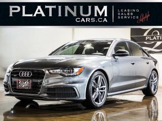 Used 2015 Audi A6 3.0 TDI Quattro TECHNIK, NAVI, CAM, Blindspot for sale in Toronto, ON