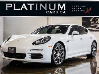Used 2015 Porsche Panamera 4, AWD, NAVI, SUNROOF, RED LEATHER, Park Sensor for sale in Toronto, ON