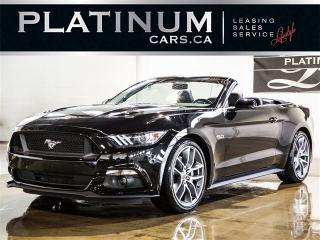 Used 2016 Ford Mustang GT Convertible PREMIUM, NAVI, CAM, Magnaflow for sale in Toronto, ON