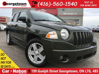 Used 2008 Jeep Compass Sport/North | 4X4 | POWER OPTIONS | AUX for sale in Georgetown, ON