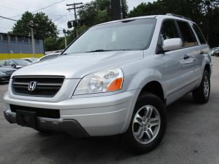 Used 2004 Honda Pilot EX-L ~ LEATHER ~ AWD ~ 79KMS ~ LOW KMS !! for sale in Burlington, ON
