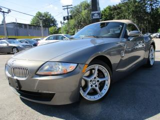 Used 2007 BMW Z4 3.0 SI ~ CONVERTIBLE ~ 71KMS LOW KMS ~ AUTO !! for sale in Burlington, ON