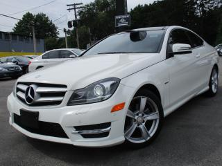 Used 2012 Mercedes-Benz C-Class C250 COUPE ~ PANORAMIC ROOF ~ 38KMS ~ LOW KMS !!! for sale in Burlington, ON