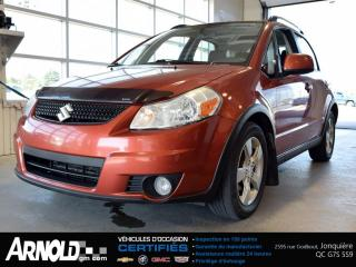 Used 2012 Suzuki SX4 Crossover Awd Jlx for sale in Jonquière, QC