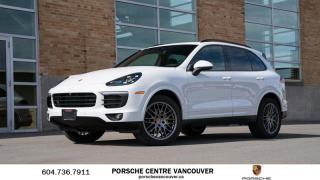 Used 2018 Porsche Cayenne Platinum Edition | PORSCHE CERTIFIED for sale in Vancouver, BC
