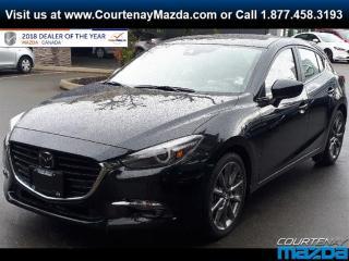 New 2018 Mazda MAZDA3 Sport GT at for sale in Courtenay, BC