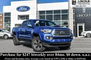 Used 2016 Toyota Tacoma SR5 Double Cab Super Long Bed V6 5AT 4WD for sale in Ottawa, ON