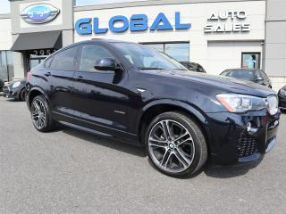Used 2015 BMW X4 xDrive28i M-SPORT PKG, FRONT / REVERSE CAMERA . for sale in Ottawa, ON