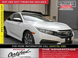 Used 2016 Honda Civic EX for sale in Vancouver, BC