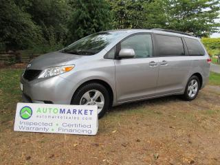 Used 2011 Toyota Sienna LE Mobility Access 7-Pass V6 for sale in Surrey, BC