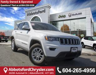 Used 2018 Jeep Grand Cherokee Laredo *ACCIDENT FREE* *LOCALLY DRIVEN* for sale in Abbotsford, BC