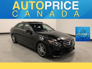 Used 2015 Mercedes-Benz E-Class PANOROOF|NAVIGATION|REAR CAM for sale in Mississauga, ON