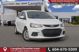 Used 2017 Chevrolet Sonic LT Auto <B>*NO ACCIDENTS *SINGLE OWNER<B> for sale in Surrey, BC