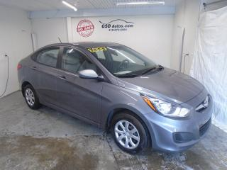Used 2014 Hyundai Accent L for sale in Ancienne Lorette, QC