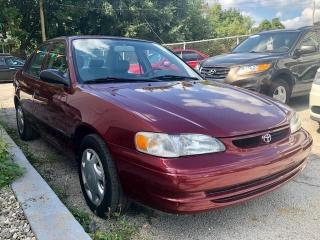 Used 1999 Toyota Corolla for sale in Mississauga, ON