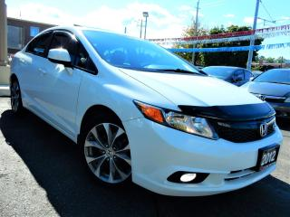 Used 2012 Honda Civic Si 6-SPEED MT | NAVIGATION | P.SUNROOF | ONE OWNER for sale in Kitchener, ON