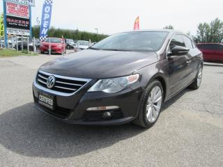 Used 2010 Volkswagen Passat CC 2.0T / AUTO / LEATHER / ACCIDENT FREE/ NAVIGATION for sale in Newmarket, ON