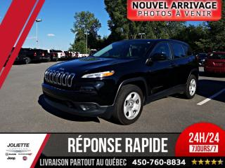 Used 2017 Jeep Cherokee Sport, V6 for sale in Joliette, QC
