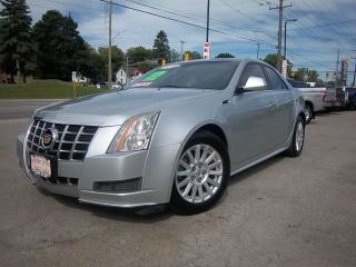 Used 2013 Cadillac CTS Luxury for sale in Whitby, ON