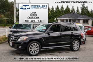 Used 2010 Mercedes-Benz GLK350 4MATIC AWD SUV, Leather, Pano Roof, Bluetooth! for sale in Surrey, BC