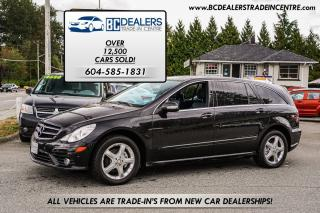 Used 2010 Mercedes-Benz R-Class R350 4MATIC, Low 97k, Pano Roof, Navi, DVD, Loaded for sale in Surrey, BC