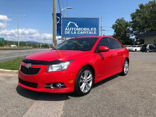Used 2014 Chevrolet Cruze LT RS for sale in Québec, QC