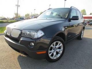 Used 2009 BMW X3 XDRIVE30I TOIT PANO A/C for sale in Ste-Catherine, QC